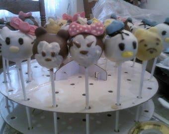 Disney Character Cake Pops