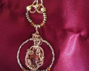 Madeira Citrine Wire necklace