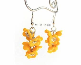 Forget-me-not Flower earrings