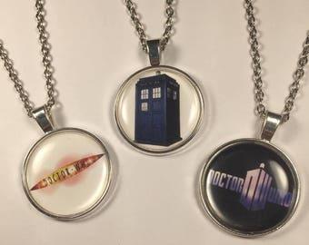 Doctor Who fandom necklaces