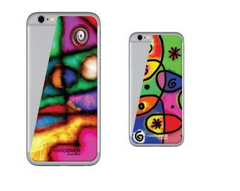 """2 6/6s/iPhone skin cover 7 """"Crazy"""""""