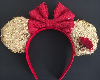 Beauty and the Beast/Belle  Inspired Ears