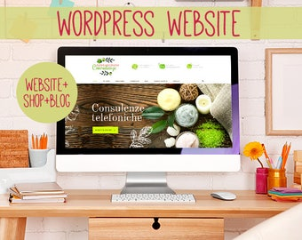 Website, showcase site, Wordpress website, Web Design, Online Shop, E-commerce, Blogs