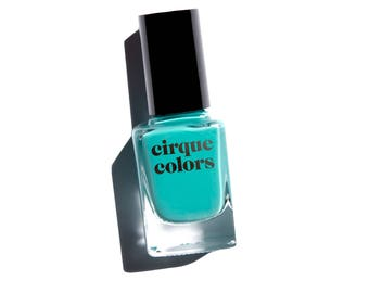 Cirque Colors Nail Lacquer, Spring Turquoise Creme, Lady Liberty
