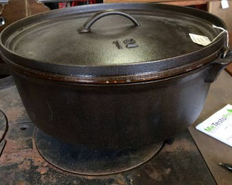 Seasoned Dutch Oven