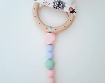 Silicone Pacifier Clip Toy