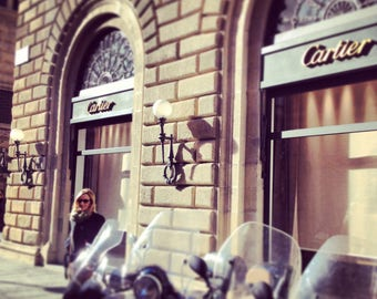 Cartier storefront Florence