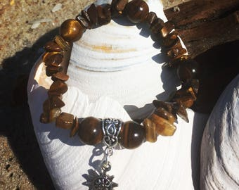 Tigers Eye Stone of Courage Bracelet