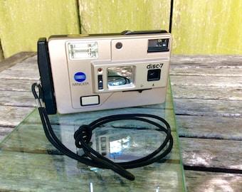 1983 Minolta Disc-7 Camera
