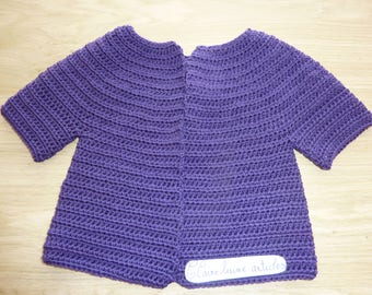 Purple baby Cardigan