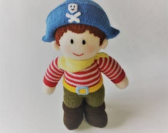 Pirate Knitted Toy