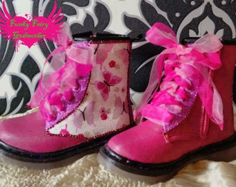Perfect for little princesses ankle boots, girls ankle boots, children's boots, children's ankle boots, customised boots, kids boots, boots