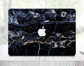 Black Marble Laptop Case For MacBook Pro Sleeve For MacBook Air 11 Skin For Samsung Microsoft Skin Lenovo Cover Mac Air 13 Skin ES0014
