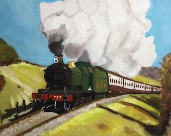 Elegant Steam Train