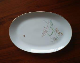 A vintage Hutschenreuther porcelain plate