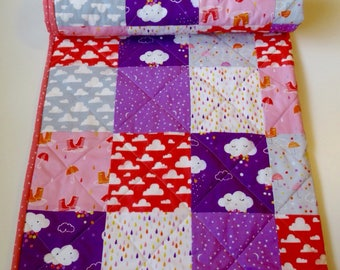 Patchwork Baby Quilt