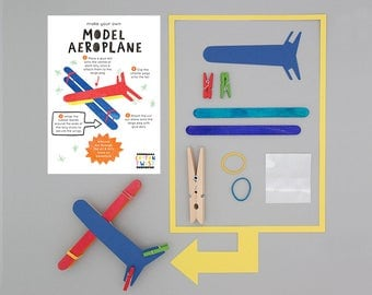 Make Your Own Model Aeroplane Kits - Perfect for Party Bags