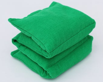 Wheat Heat Pack/Bag-4 Sectioned Green