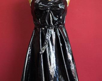 PVC 90'S dress Medium size