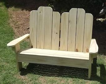 Childrens double Adirondack chair