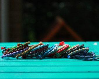 Twist friendship bracelets