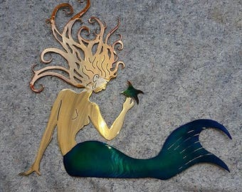 Mermaid Art Large