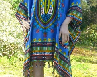 Layered look tunic Ibiza plus-size XL-XXL ethno style hippie