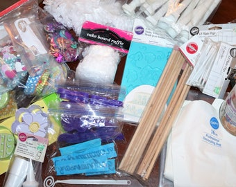 Wilton Cake Decorating Supplies Various Items