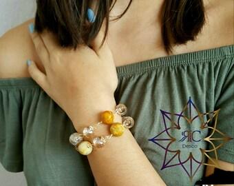 Rosa Hook Bracelet