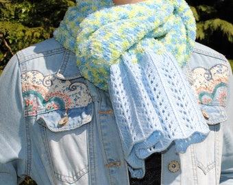 Very soft knit scarf
