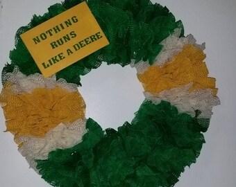 JOHN DEERE Color Wreath