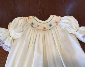Hand English Smocked dress
