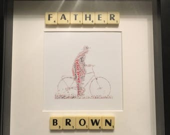 Father Brown word art