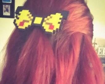 8 Bit Pikachu Bow