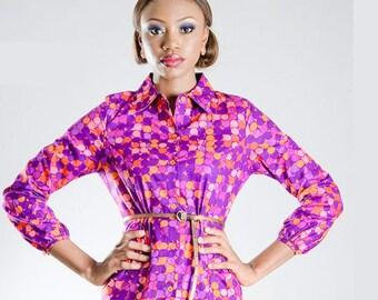 PopGirl Print Dress