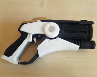 Replica gun mercy overwatch cosplay prop next purchase + gift!