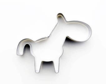 Donkey Cookie Cutter Cookie Cutter - Animal Fondant Biscuit Mold - Pastry Baking Tool Set