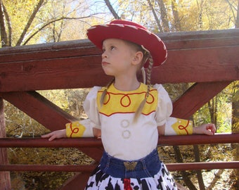 Jessie Cowgirl Costume, Toy Story Dress