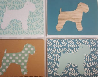 Wheaten Terrier Set of Cards