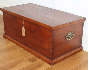 Victorian Country Blanket Box