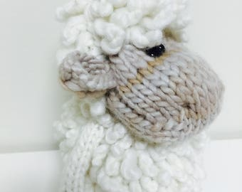Knitted Simply Cute Amigurumi Sheep