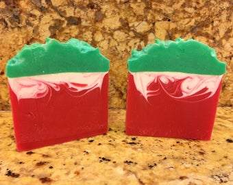 Sweet Strawberry Cold Process Soap Bar