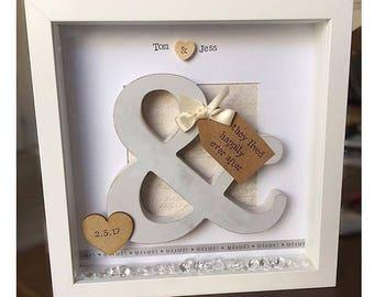 Handmade Wedding Frame