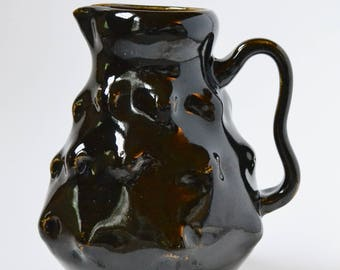 Temmoku Ceramic Pitchers