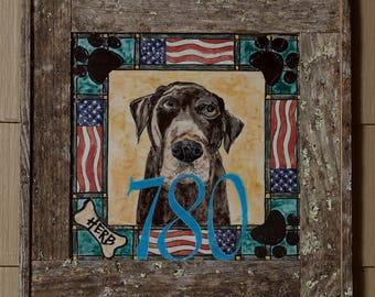 Personalized Pet Display Tiles