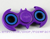 Best Fidget Spinner Toy! Batman Fidget Toy Spinner Fidget Hand Spinner with Ceramic Bearings. Spinner Fidget in Purple & Custom Colors.