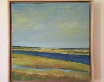 Original Oil Painting, Eastham Channels