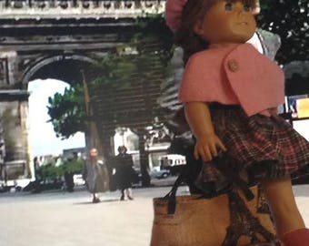 18 inch Doll A Walk Through Paris Outfit