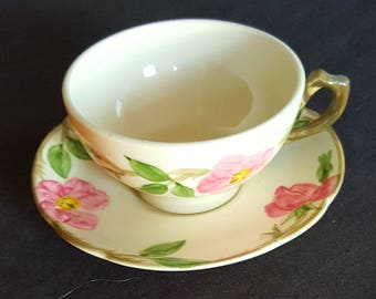 Franciscan tea cup with saucer