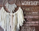 Wall hanging WORKSHOP at Stonefruit Espresso